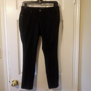 🌟 Black Faded Glory Skinny Jeans 8P